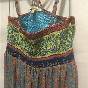 Boho Cute Maxi Dress Sz.L